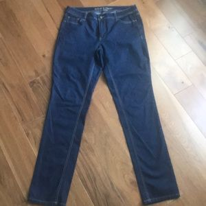 ASHLEY STEWART TALL SKINNY JEANS SIZE 12